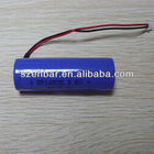 3.6v 2400mAh size aa lithium battery er14505h