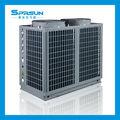Basse température ambiante incriminantes pompe à chaleur air eau de refroidissement et de chauffage pour la maison de l'eau chaude