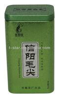 tea tin can with aritight metal lid/bulk custom tea tins