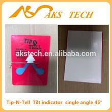 hot sale tilt monitoring label Tip N Tell