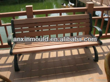 Wood Plastic composite WPC bench mould tooling for park or garden