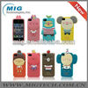 High quality forest cartoon animal case for iphone 5, cell phone case for iphone 5S