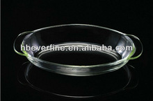 2.5 L Microwave Oven Safe Glass Bake Tray