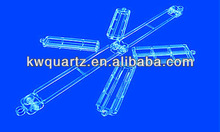 high quality transparent quartz boat from donghai kaiwang lianyungang jiangsu china