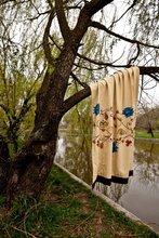 Hand painted fabrics - HARMONY curtains