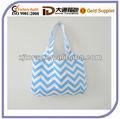 Simples e elegante de grande luz sarja Shopping Tote Bag