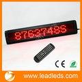 números digitais e de rolagem de texto exibir alibaba site remoto ir led sinais programável