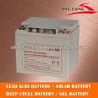 deep cycle ups battery /VRLA /solar battery /12V 30Ah / maintenance free