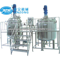 500L shampoo making production line,liquid detergent production plant