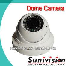 High quality vandal/waterproof 700tvl 3 axis dome camera