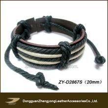 Wax cotton bracelets cotton friendship bracelets (ZY-D2867S)
