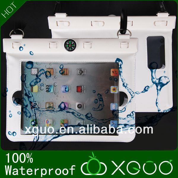 2013 New products china plastic dealer best fashion pvc waterproof bag for ipad mini