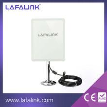 LAFALINK RTL8187L High Gain High Power Outdoor Wireless USB Adapter, WiFi USB Network Card with 14dBi Antenna