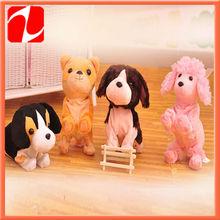 2013 bestselling lovely talking plush dog plush animal plush toy