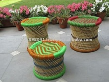 Outdoor Cane Stools