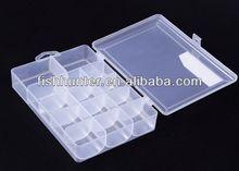 GH06 small clear box plastic fishing box