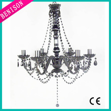 Beaded High Quality Gold 5-Light Modern Chandelier with Jewelry Chain and Crystal Beads(BS284-164B)