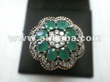 925 Silver Rings Necklace Earring Turkish Antique Custom Wholesale Jewelry Manufacturer Gold 18k 9k 4k 6k 8k