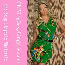 Caliente venta 2013 nuevo estilo impreso mujeres del club del vendaje