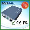 10g catv. 10/100m media convertisseur fibre optique