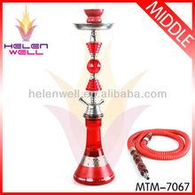 unite middle red nargile hookah shisha