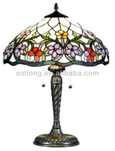 wholesale stained glass table lamp shade modern tiffany lamp