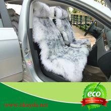 Real Sheepskin long fur car seat cover