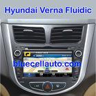 Hyundai Verna Fluidic Car DVD / GPS Navigation touch screen Player