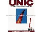 UNIC Heavy-Duty Truck-Mounted Crane