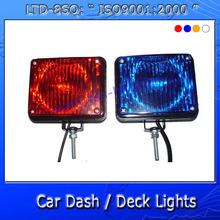 auto emergency strobe dash/deck light LTD-8SQ