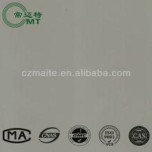 HPL-GRAPHITE laminated sheets/plain color Formica 1300*2800