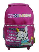 fashional duffle trollely bag for kiids 2013