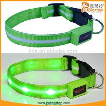 Novelty pet products light dog collar TZ-PET6100 ration pet