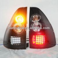 Prado FJ120 LED Tail light TOYOTA 03-08 Black Color V3 Type