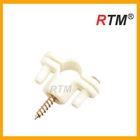 Astm PVC 1216 1014 plastic pipe clamp with screw
