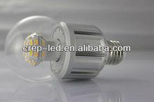 ul listed 360 degree 6w 5w 4w led bulb 12.7W E27/B22/E26 with Clear lens