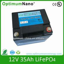High quality 12V 35Ah solar panel battery