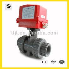 12V,24V,110V,220V electric valve with position indicator , Smooth flow, no block up