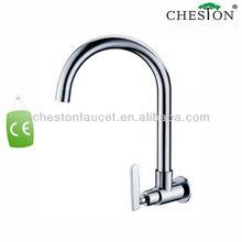 High End Flexible Brass Kitchen Faucet