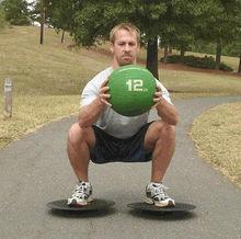 medicine ball /solid rubber medicine ball/weight ball