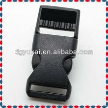 5/8'' Plastic (16mm), Contoured Side-Release Buckles.