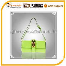 Koera Green/Purple/Orange bag high quality women fashion genuine leather ladies handbag