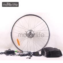 MOTORLIFE Direct factory supply ce pass ebike convertion kit
