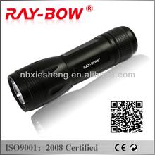 9401 3AA suitable size bailong cree led flashlight