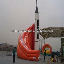 Inflatable Fire Truck Slide PVC Tarpaulin