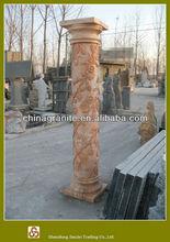 decorative roman marble flower column