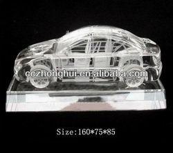 2015 fancy beautiful clear car model with base