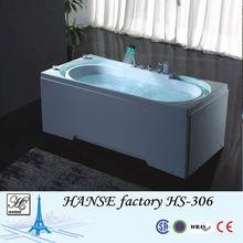 Bathtub dog/white bathtub 150cm/fibreglass bathtubs HS-B306