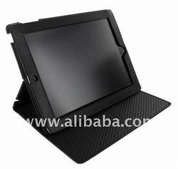 Piel Frama Black Ostrich Cinema Leather Case for tablet pc