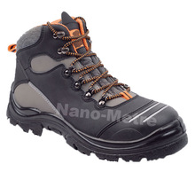 NMSAFETY PU safety shoes/working shoes from wenzhou cheap price and good quality